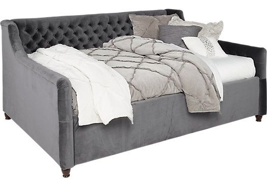 Alena Charcoal 2 Pc Full Daybed . $577.00. 81.5L x 61W x 39.5H. Find affordable Beds for your home that will complement the rest of your furniture.