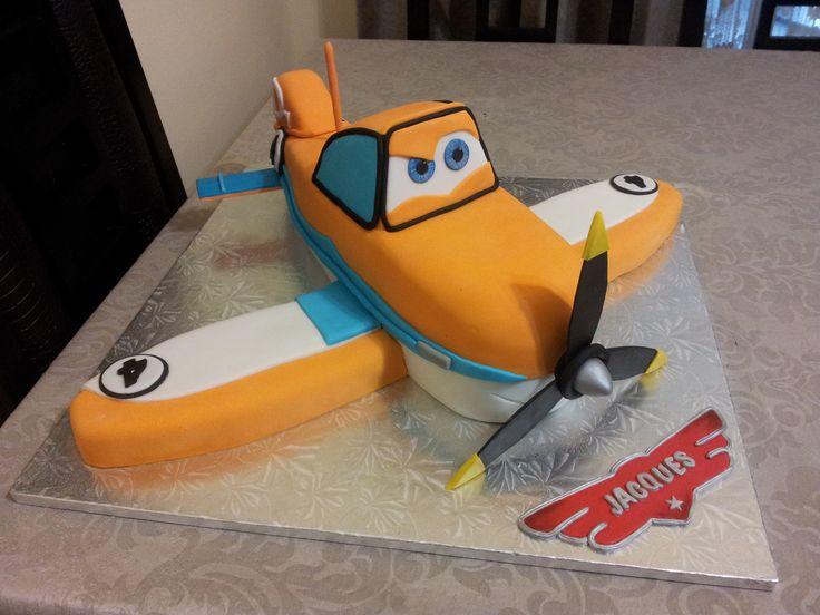 Dusty Cake, Planes Cake, Dusty Crophopper Cake
