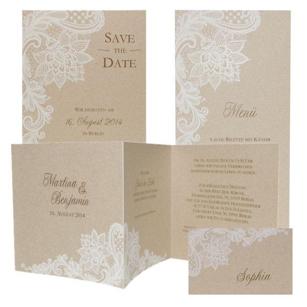 Musterpaket   Vintage Lace   Sweetwedding   Hochzeitskarten, Druck,  Hochzeitsdekoration, Hochzeitsalben, Gastgeschenke. Einladungskarten ...