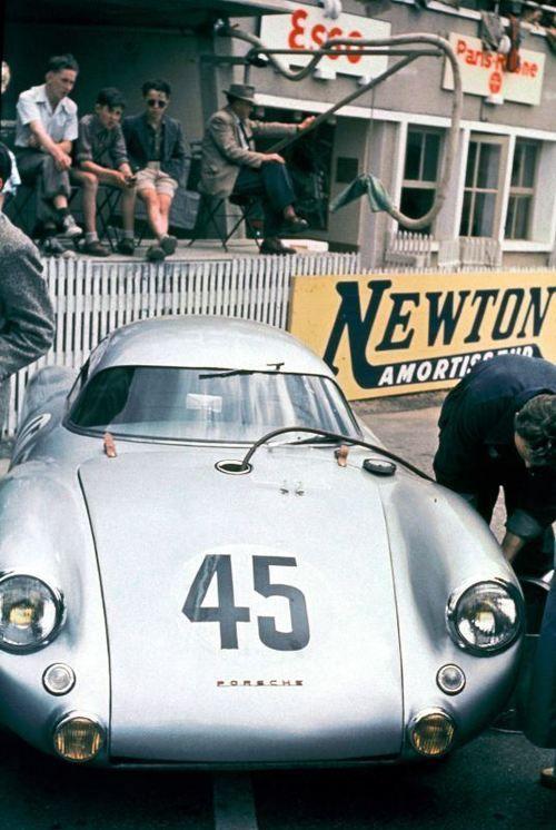 mobilmitstil:  1953 Porsche 550 Coupe