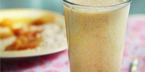 Appel-abrikozen smoothie