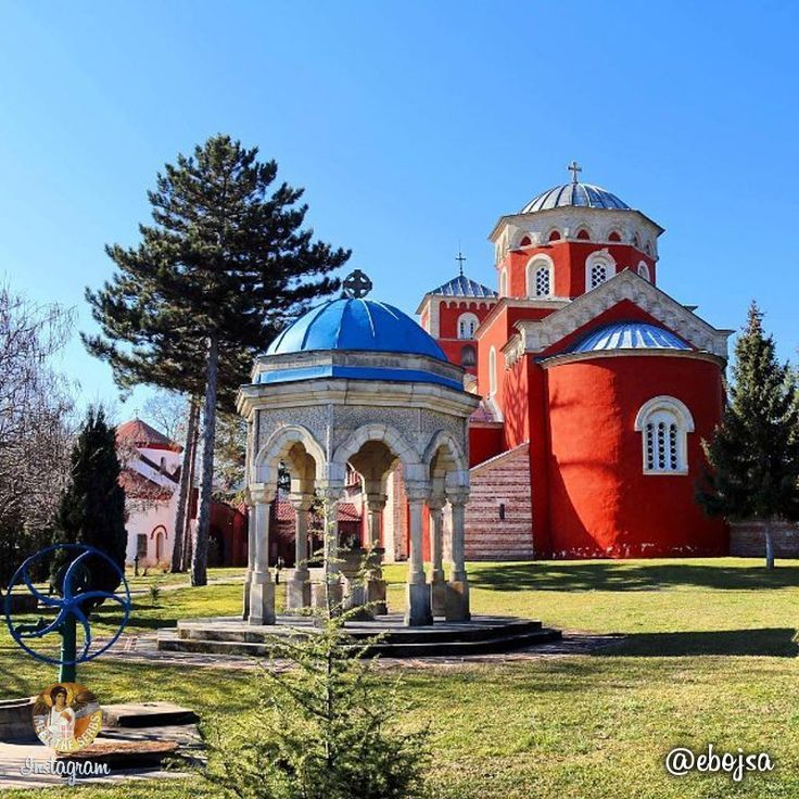 Did you know that the 13th century Žiča Monastery, the endowment of Serbian King Stefan the First Crowned, is the only monastery in the world where seven rulers, members of a single dynasty, have been crowned? | Да ли сте знали да је манастир Жича из прве половине 13. века, задужбина краља Стефана Првовенчаног, једини манастир у свету у ком је крунисано седам владара из једне династије? | Photo: ebojsa