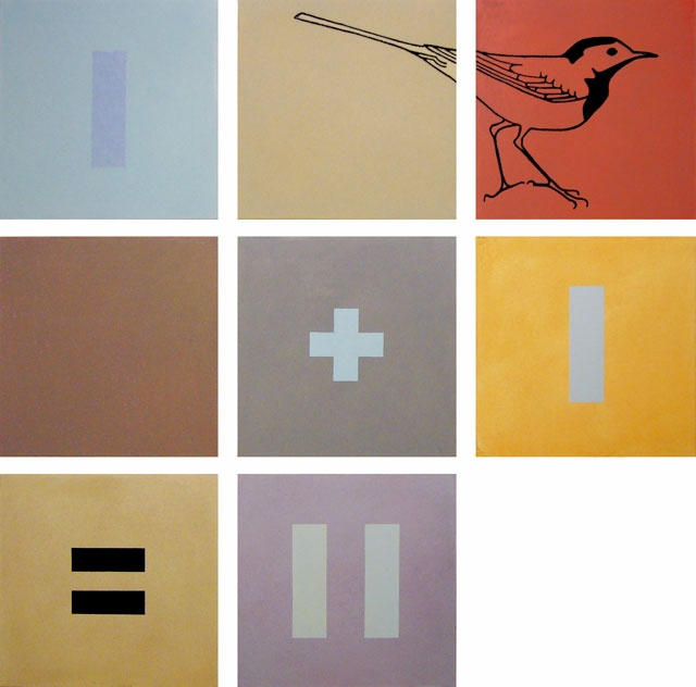 Osmo Rauhala, Game Theory, 2006  Oil on canvas