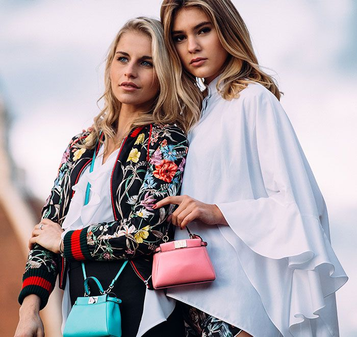 Stefanie Giesinger & Caro Daur attending the 12th edition of Firenze4Ever. Shop the style!