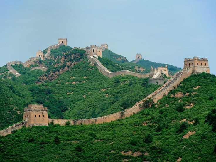 Get adventurous and hike along the unrestored section of the Great Wall of…