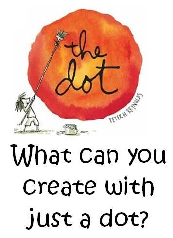 "This week we read the story ""The Dot"" by Peter Reynolds.  This is one of our stories from the Reading Street program but can also be purch..."
