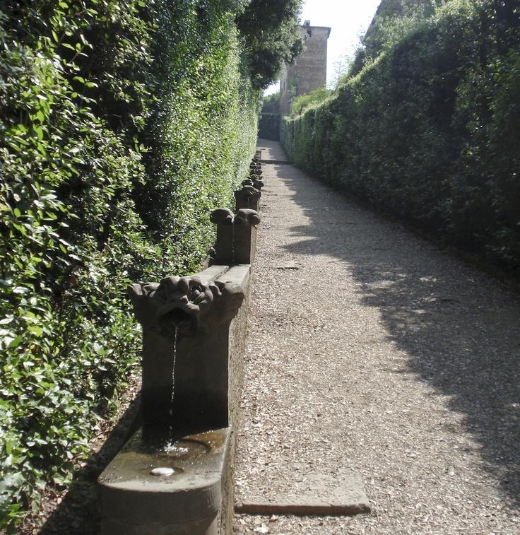 Boboli tuscanyagriturismogiratola paissage i jardin for Jardines boboli