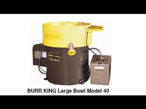 BURR KING's Vibra KING Large Bowl Model 40