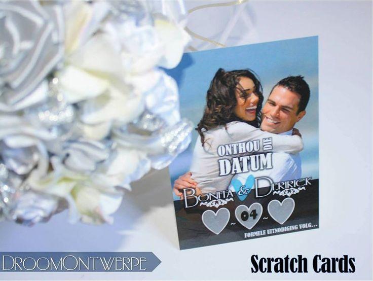 Scratch Card Save The Dates