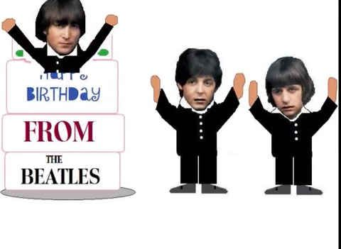 "The Beatles, ""Birthday"" 
