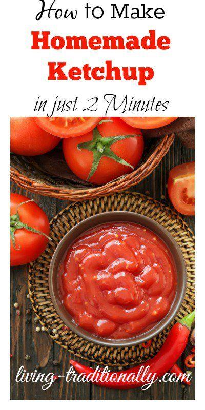 CE Homemade Ketchup Recipe — Dishmaps