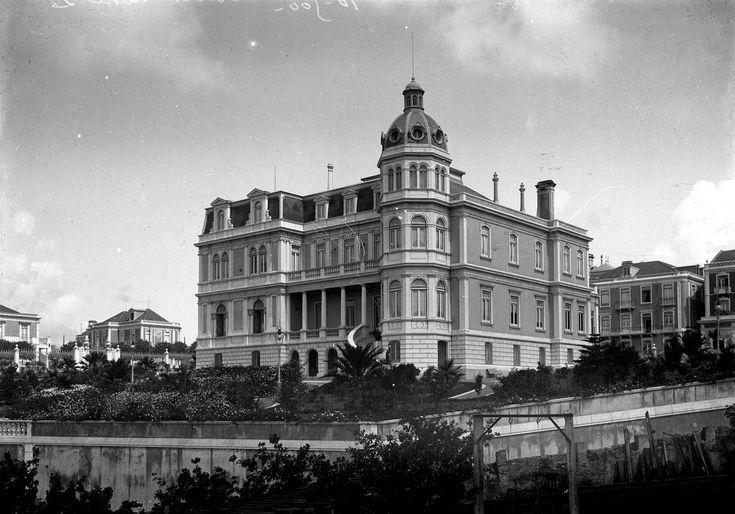 Palácio Sottomayor, pós 1906, foto de Paulo Gued
