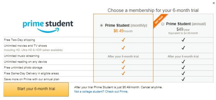Join Now Student Movies Tv Shows Amazon