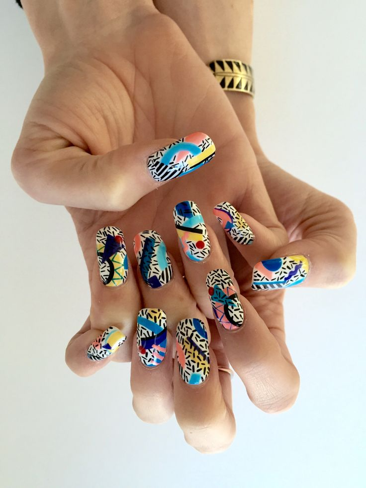 25+ best ideas about 1980s Nails on Pinterest