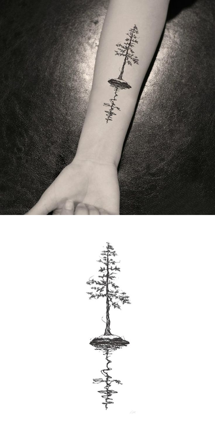 [Visit to Buy] Waterproof Temporary Fake Tattoo Stickers Vintage Black Grey Tree Design Arm Leg Body Art Make Up Tool #Advertisement