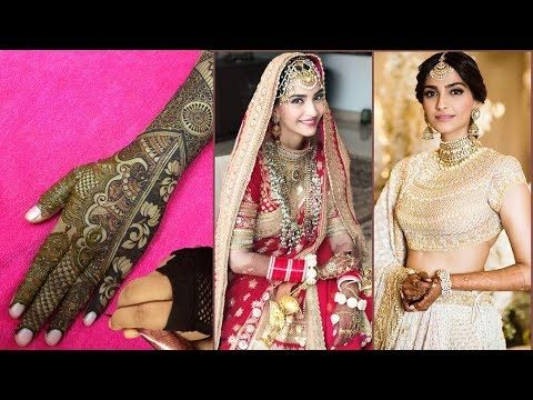 Sonam Kapoor Wedding Mehndi Design video Re-Creation – YouTube
