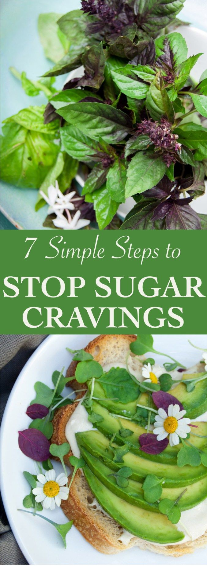 Stop sugar cravings and stay on track with a healthy diet with these easy tricks.
