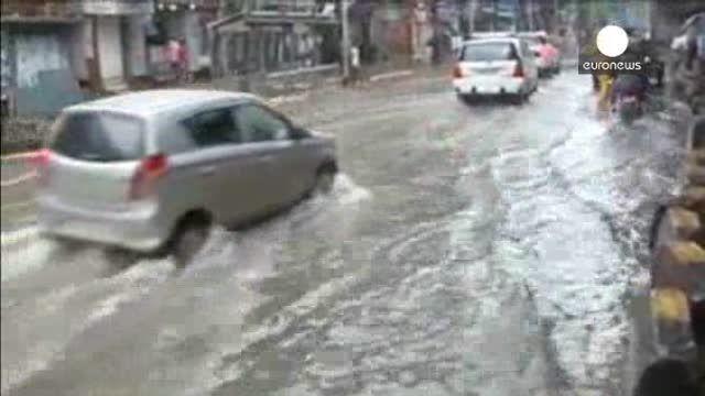 Las lluvias torrenciales castigan el centro y el este de la India