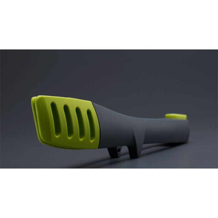 Elevate Tongs by Joseph Joseph. Ergonomic and elevate tech to keep off the counter...less mess!!!