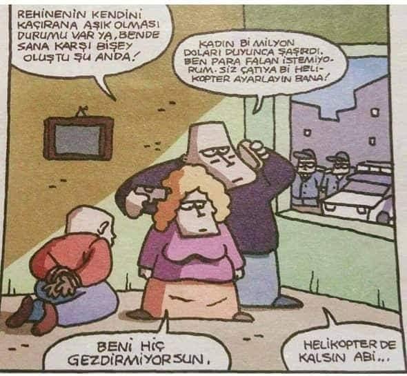 Rehine Karikatürü Özer Aydoğan | Karikatürname