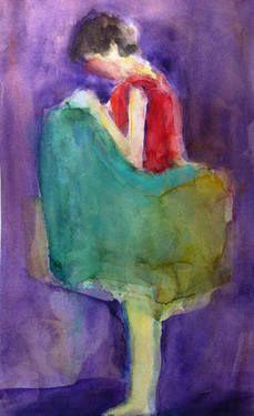 "Saatchi Art Artist Teresa Munoz; Painting, ""COMUNICACION NO VERBAL"" #art"