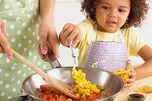 "You'll be amazed what ""playing"" with your food can teach your children #cooking, #kidscooking, #healthyfood"