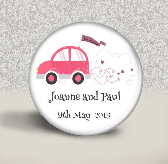 Wedding favour  20 personalised wedding favours   by BadgeBliss