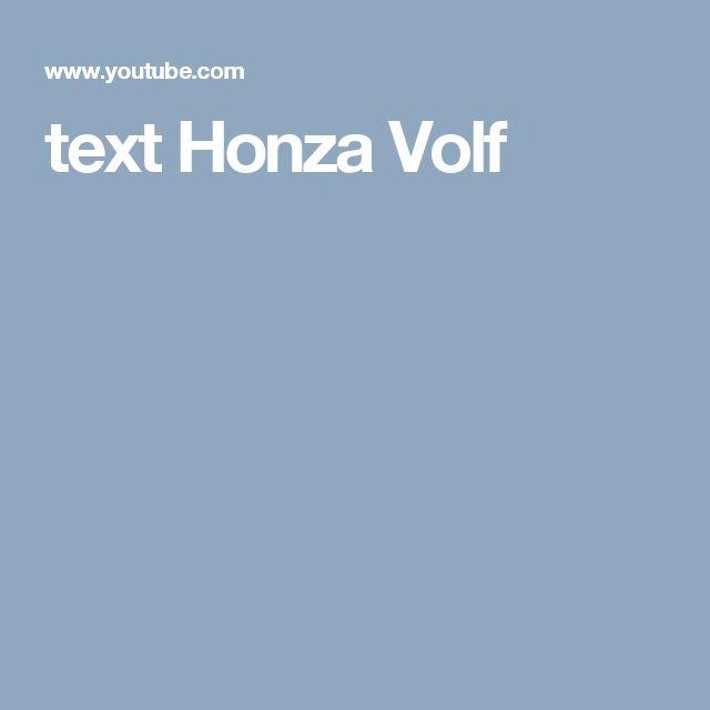 text Honza Volf