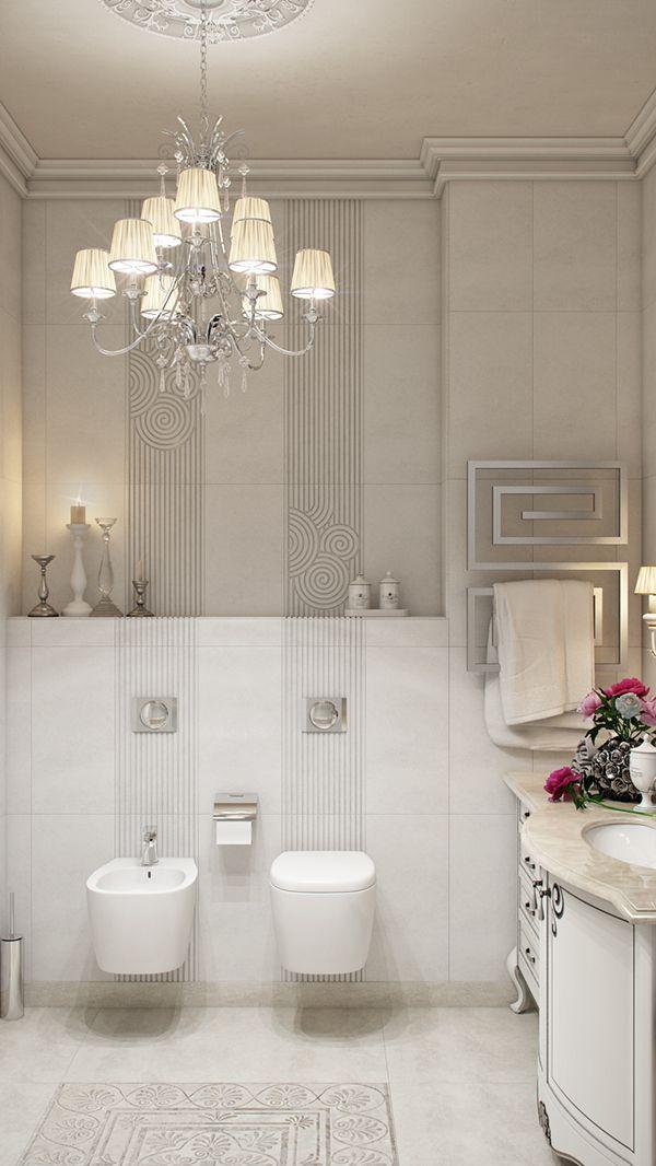 Bathroom Neoclassical White on Behance