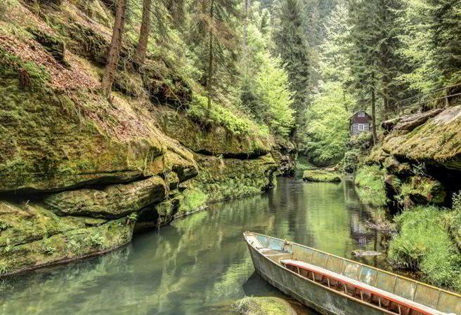 Kudy z nudy - Soutěsky Kamenice - Edmundova a Divoká soutěska v Českém Švýcarsku