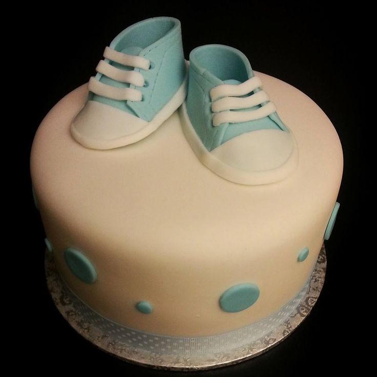 #converse inspired #baby #shower #cake for a little #prince.