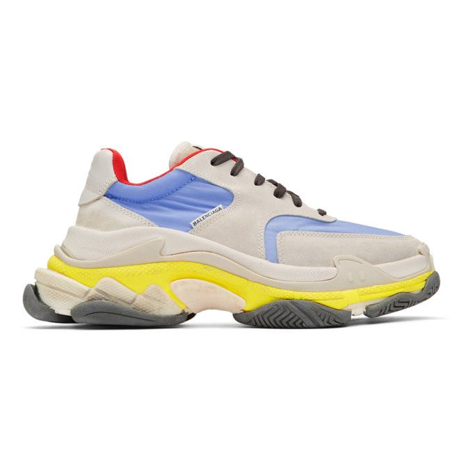 Balenciaga Triple S Low-top Trainers In