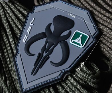 3% PVC Patches | TAD-Bounty-Hunter-Patch-Tactical-3D-Velcro-Patches-PVC-Military-Badge ...