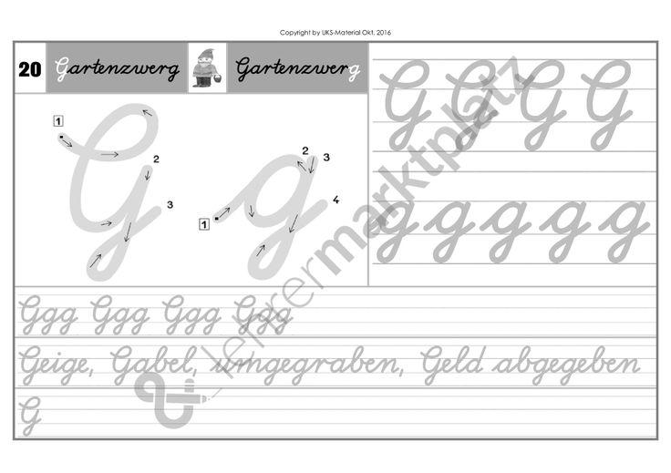 Schreiblehrgang Lateinische Ausgangsschrift KOMPLETTPAKET - Seite 24