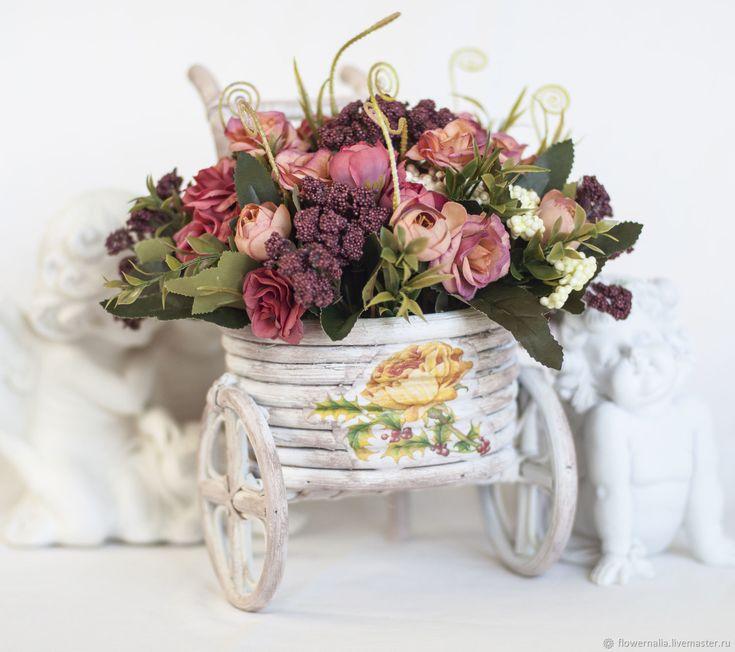 Картинки с днем рождения цветы прованс