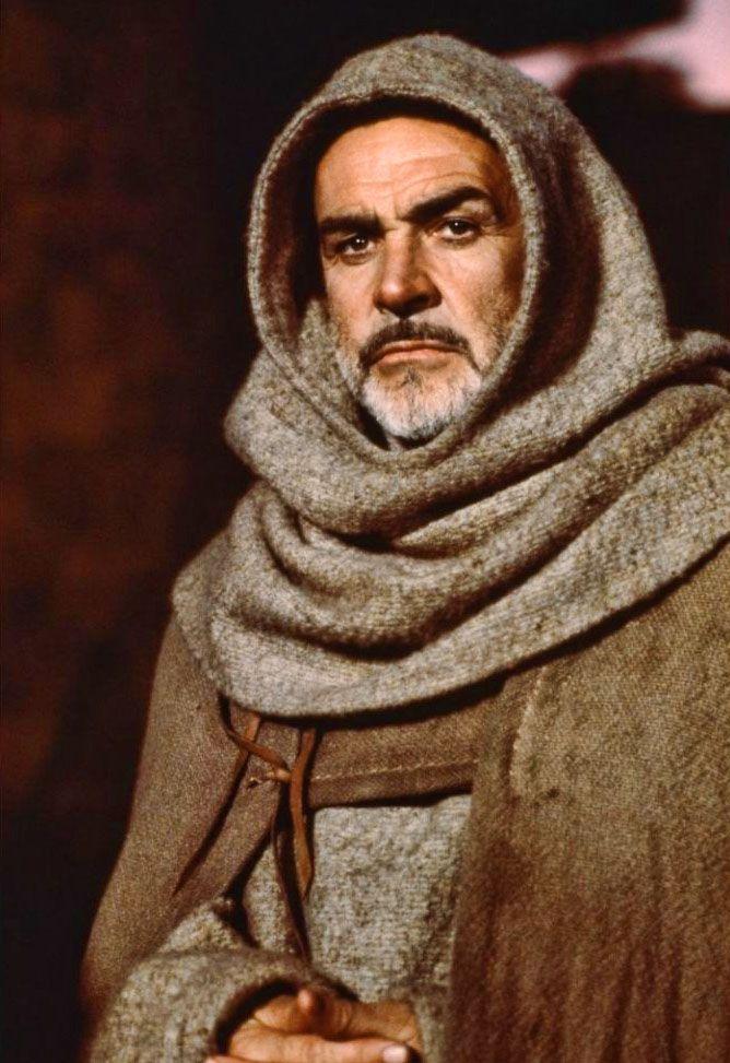 Sean Connery en El nombre de la rosa, 1986