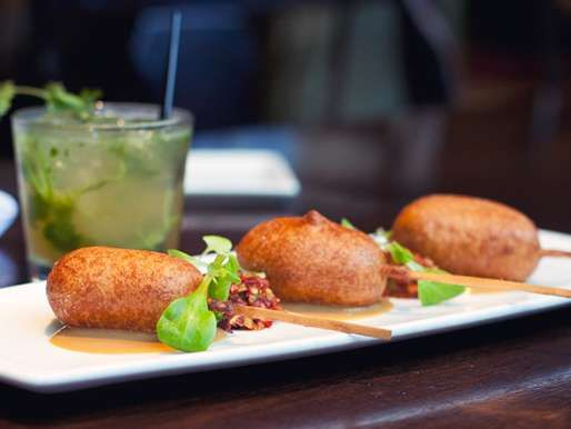 This Foie Gras Corndog is an Unexpected Mash-Up #food trendhunter.com