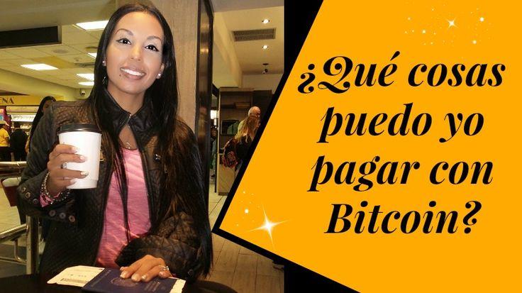 ¿Qué cosas puedo yo pagar con Bitcoin? #Bitcoin #Entrepreneur