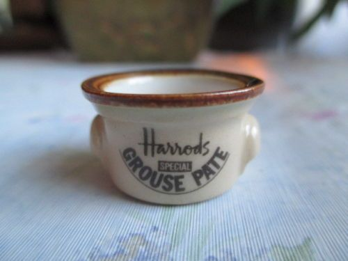Dollhouse-Miniatures-Handmade-Harrods-Grouse-Pate-Dish-by-Terry-Curran-UK