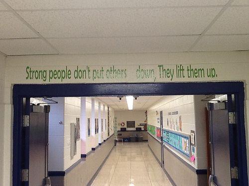 Foyer Hallway Quotes : Leader in me school hallways mrs white s th grade
