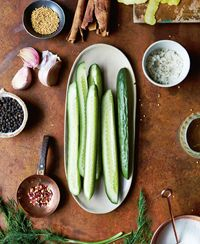 Cucumber dill pickles