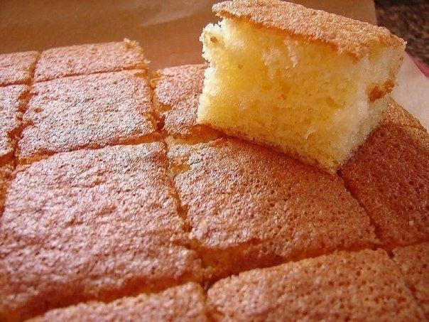 Идеальный пышный бисквит для тортов 0