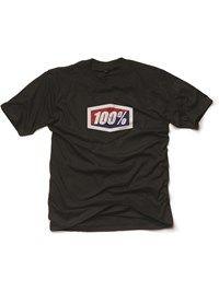 100 Percent Svart Official T-skjorte
