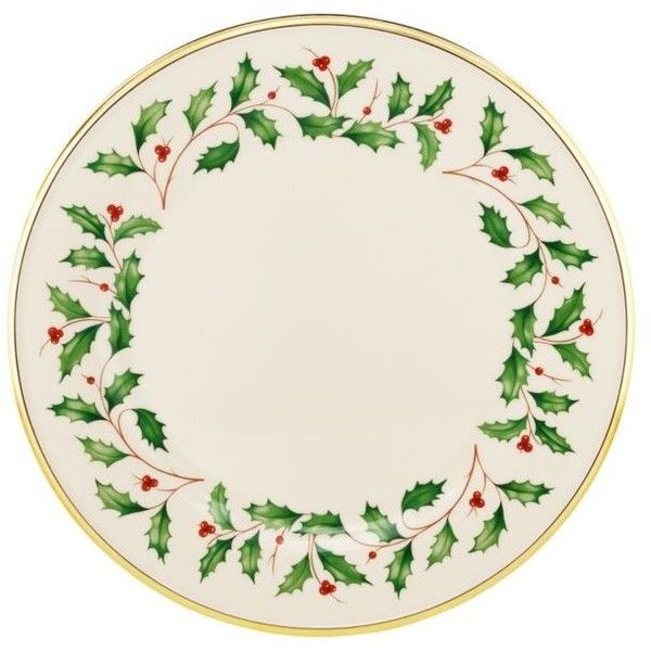 Lenox  Holiday Dinner Plate 10.5-In. ($19) ❤ liked on Polyvore featuring home, kitchen & dining, dinnerware, ivory, cream dinner plates, ivory plates, bone plate, holiday dinner plates and cream plates