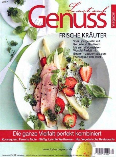 Lovely Deine lieblings Zeitschrift zum Thema Essen u Genuss im Abo mit Praemie bei uns erhaeltlich