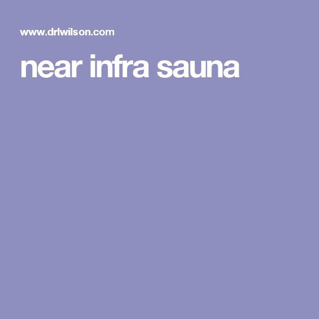near infra sauna
