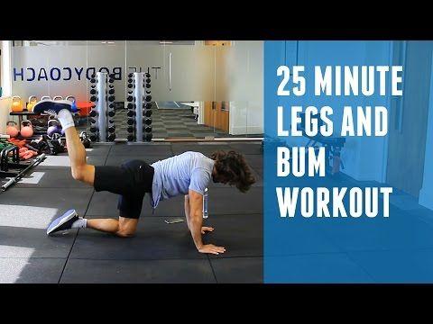 25 Minute Intermediate Low Impact HIIT | The Body Coach - YouTube
