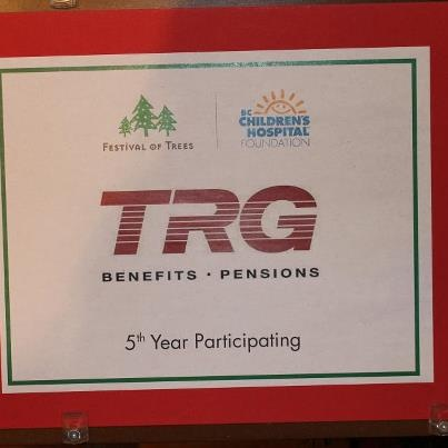 """TRG Group Benefits is in their 5th year of partipating in the """"Festival of Trees"""" at the Four Season's Hotel - Vancouver - Donations are welcomed for the BC Children's Hospital Foundation. We welcome everyone to this wonderful festivity!"""