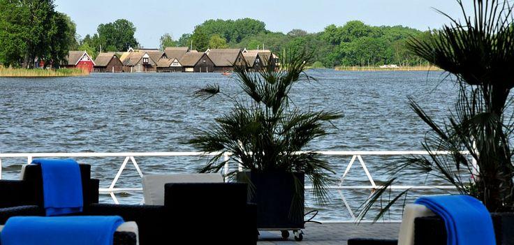 Hotel Restaurant Röbel Müritz Terrasse