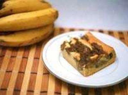 Bolo de Banana Light - Veja mais em: http://www.cybercook.com.br/receita-de-bolo-de-banana-light.html?codigo=41900